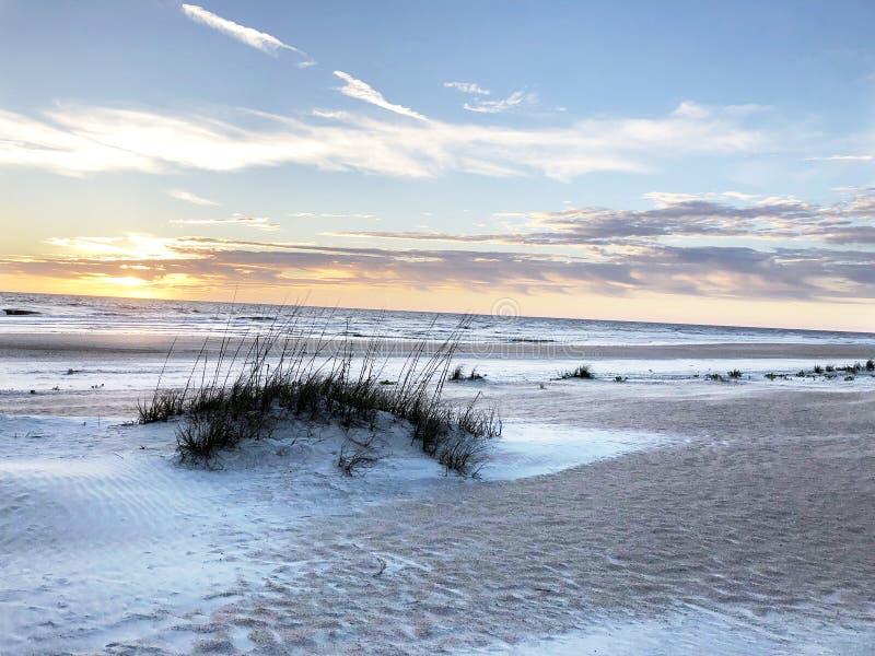 St. Augustine beach, Florida royalty free stock image