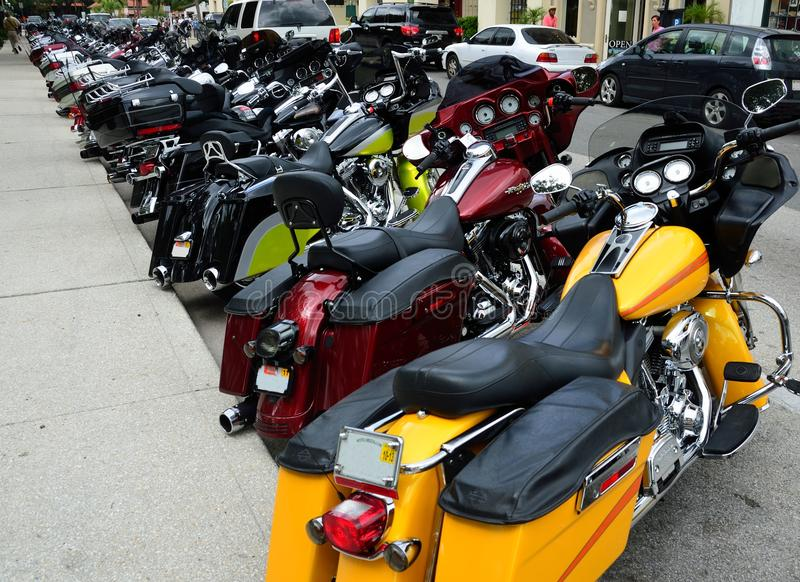 Download St. Augustine Bike Week editorial photography. Image of transportation - 22413702