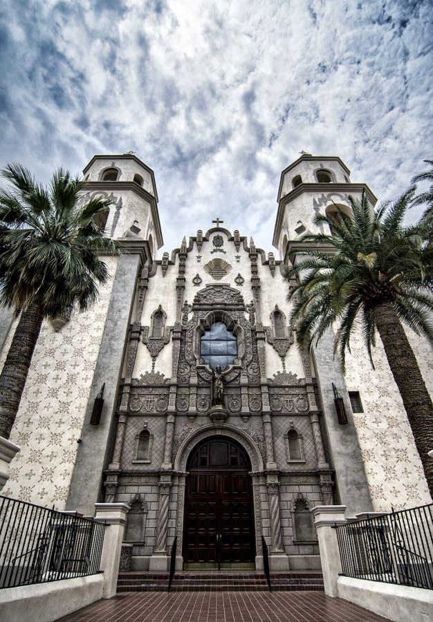 St Augustine Cathedral in Tucson Van de binnenstad, Arizona royalty-vrije stock afbeeldingen