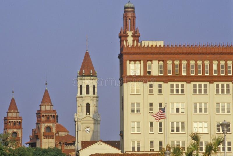 St Augustine, de oudste stad in Amerika, Florida stock foto's