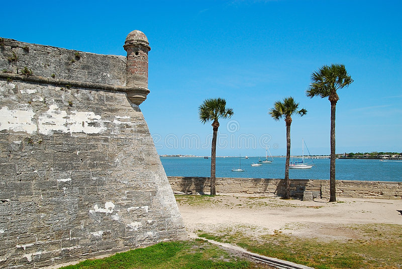 St. Augustine Eclipse. A Day At St. Augustine royalty free stock photography