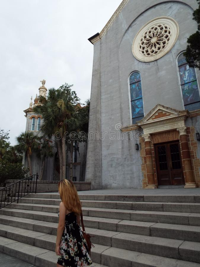 St Augustine Florida royaltyfria bilder