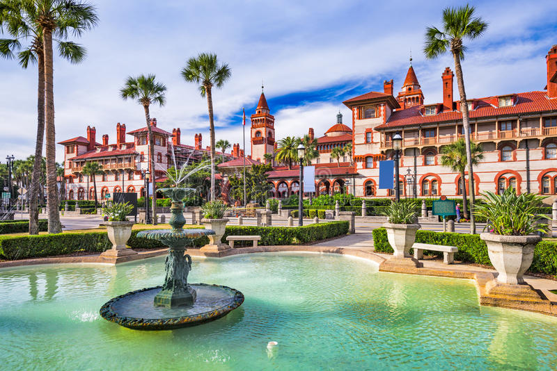 St Augustine Florida stock foto
