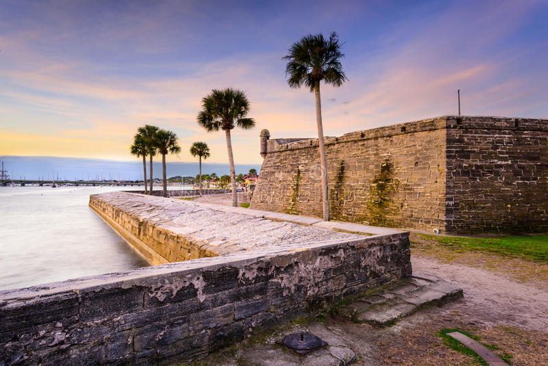St. Augustine Florida royalty free stock image