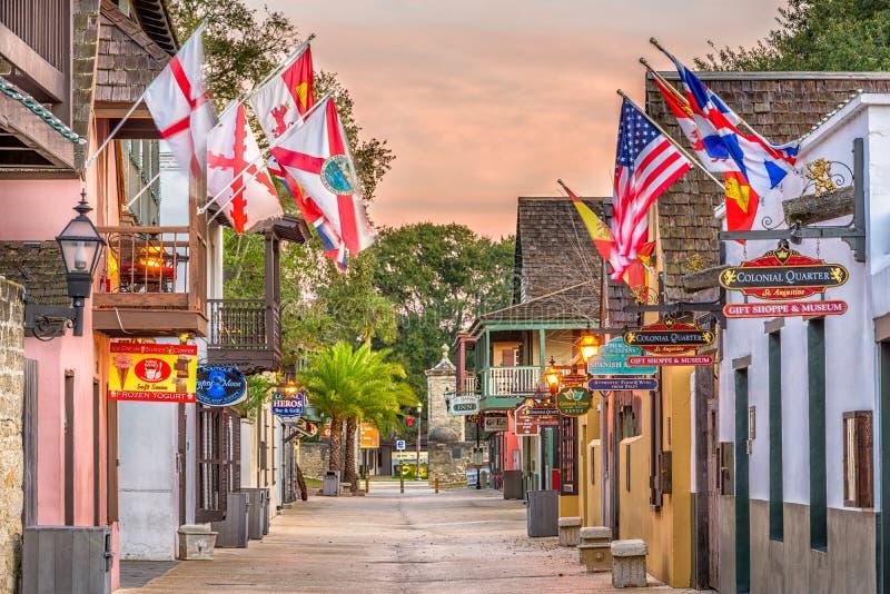 St Augustine, Florida, EUA imagens de stock