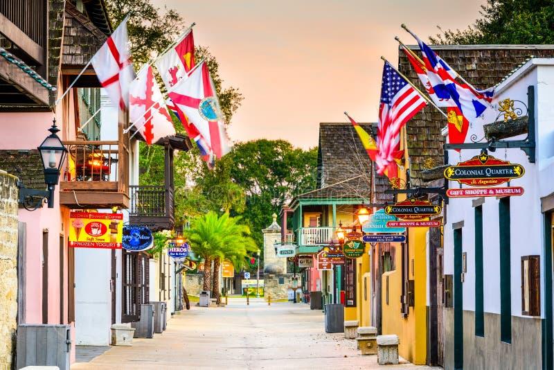 St. Augustine Florida stock image