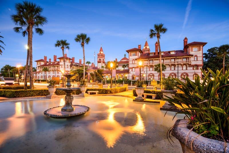 St Augustine Florida, USA royaltyfria foton