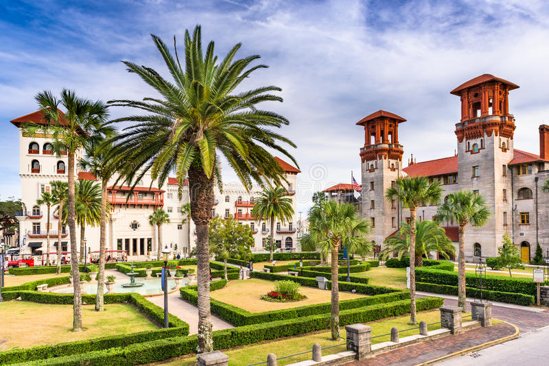 St. Augustine Florida royalty free stock photos
