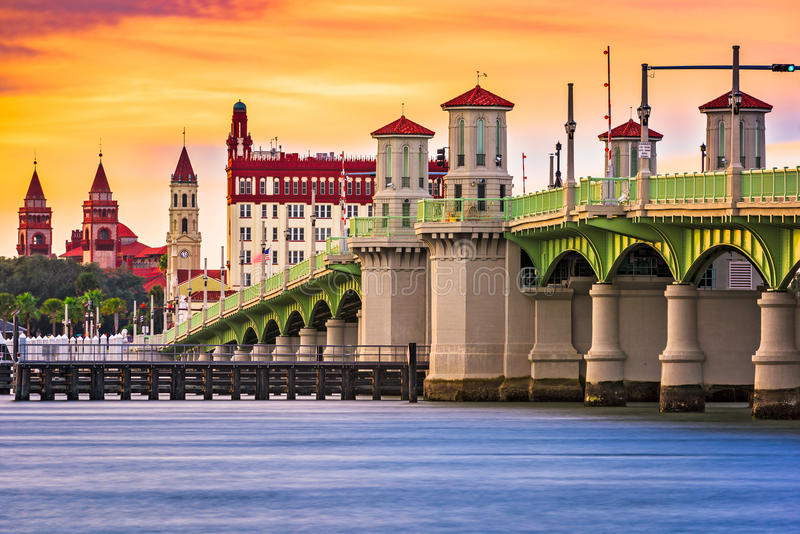 St. Augustine Florida stock photography