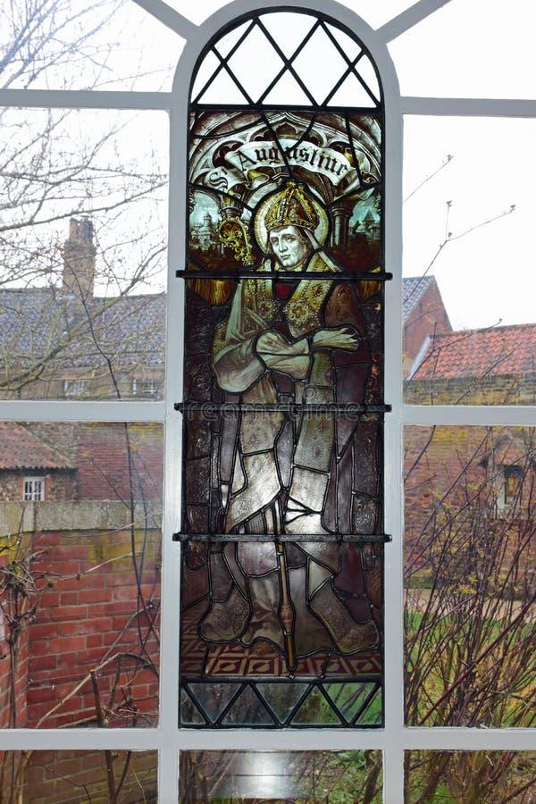 St Augustine, igreja do santuário, Walsingham, Norfolk, Reino Unido imagens de stock royalty free