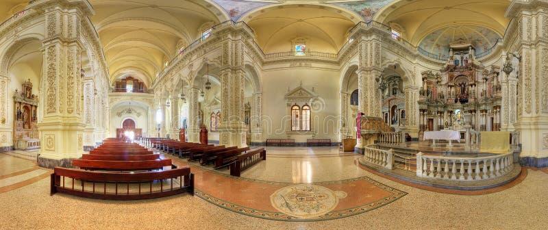 St Augustine kerk in Havana stock afbeeldingen
