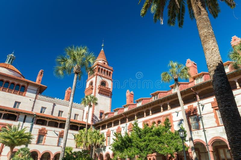 St Augustine, la Floride, Etats-Unis Université de Flagler image libre de droits