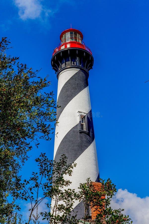 St Augustine Light Station fotografia stock