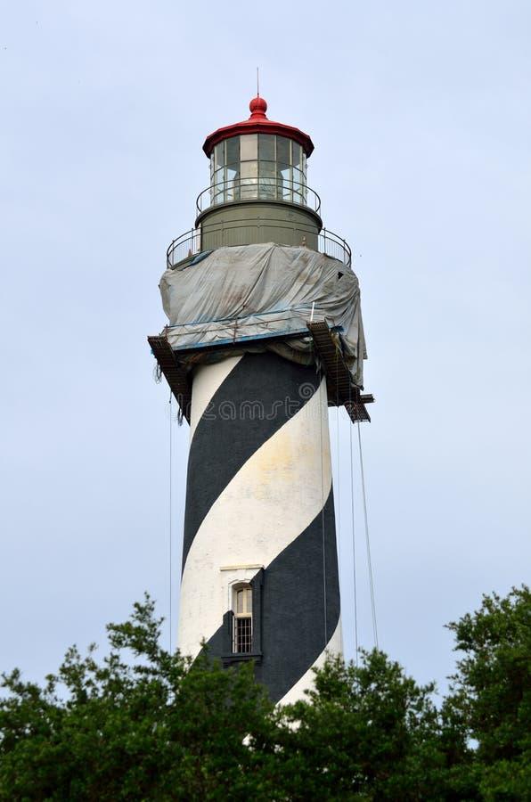 St Augustine Lighthouse, Florida imagem de stock