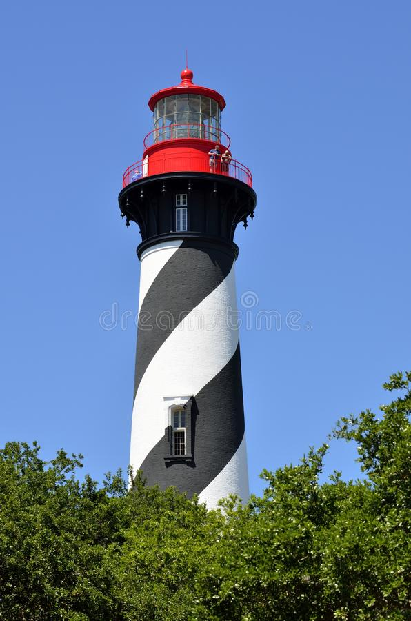 St Augustine Lighthouse, Florida fotografia de stock royalty free