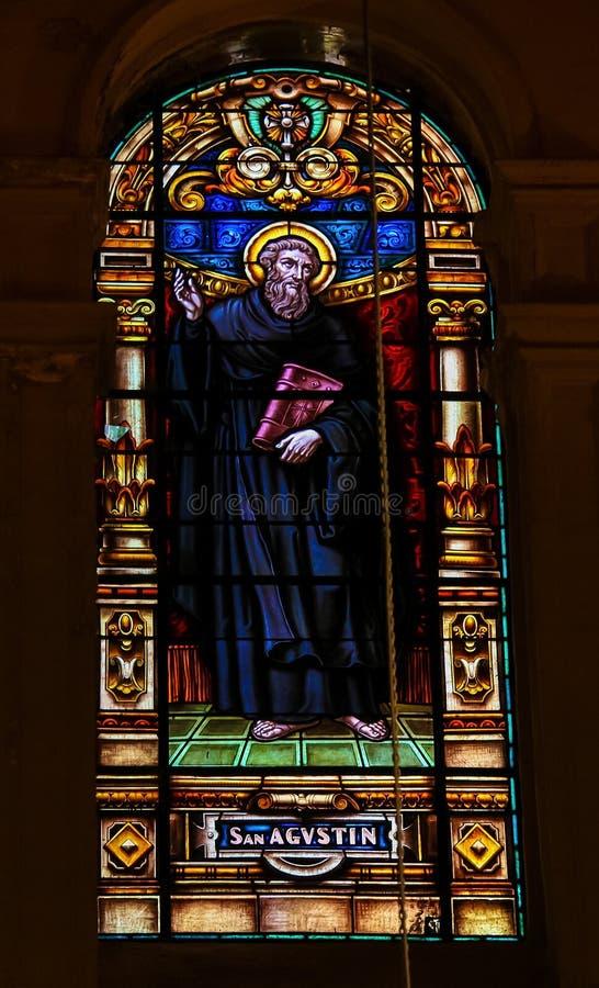 Download St Augustine - Vetro Macchiato Immagine Stock - Immagine di cattolico, mysticism: 55352793