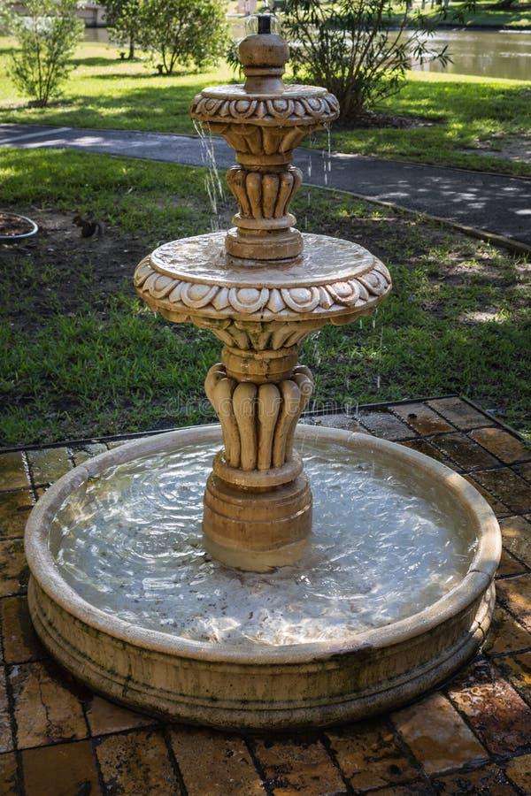 St Augustine Water Fountain fotografering för bildbyråer