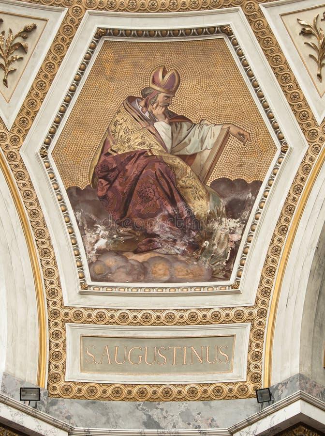 St Augustinus foto de archivo libre de regalías