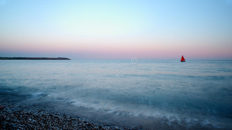 St. Austell beach, Cornwall royalty free stock image