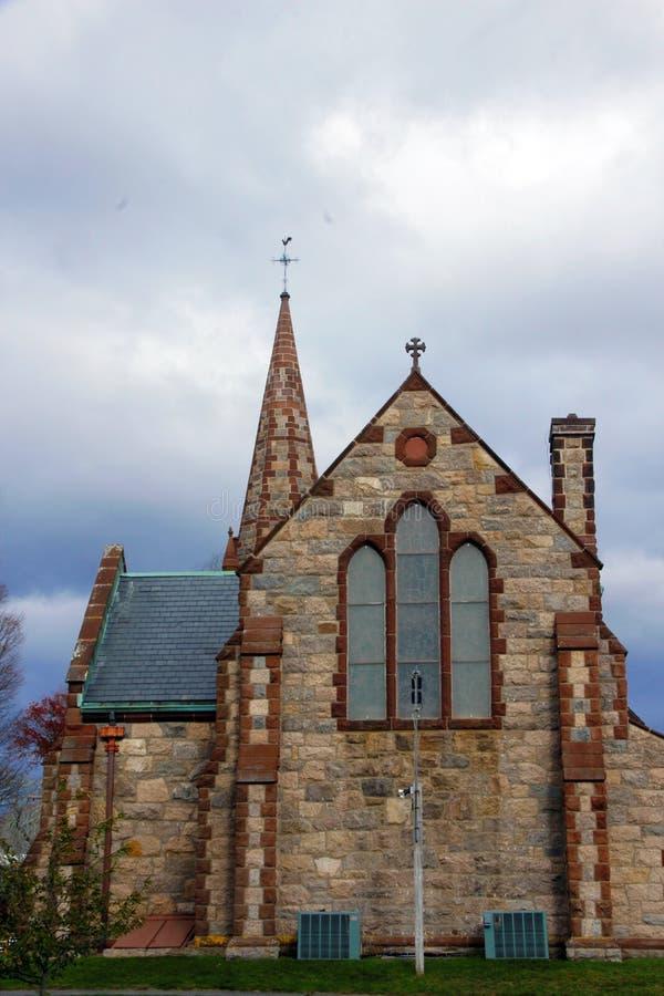 St Barnabas Memorial Church, Falmouth, Massachusetts, Estados Unidos imagem de stock royalty free
