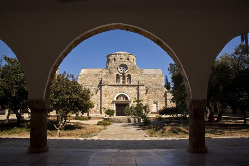 St Barnabas Monastery - Turkish Cyprus stock photography
