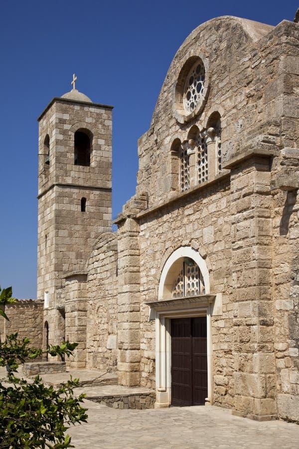 St Barnabas Monastery - Turkish Cyprus stock images