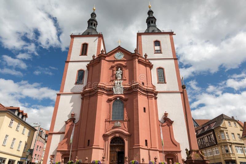 St barroco Blasius da igreja imagens de stock royalty free