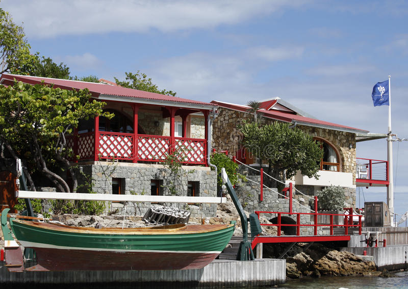 Download The Beautiful Eden Rock Hotel At St Barth, French West Indies Editorial Stock Image - Image: 29804379