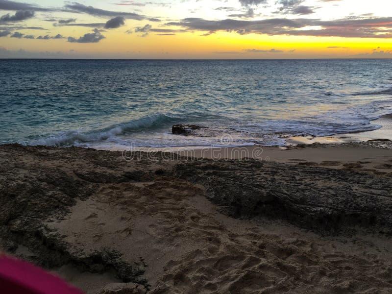 St Barth strand stock afbeelding