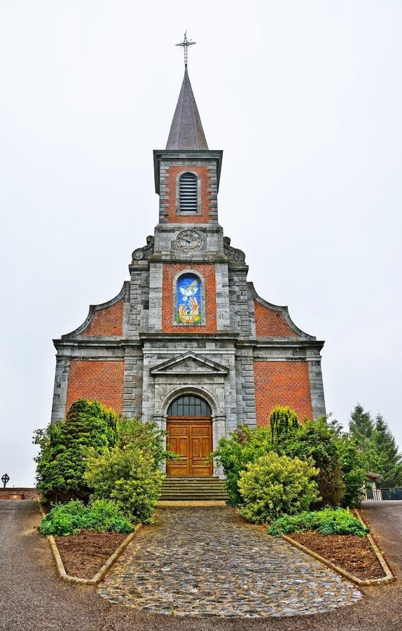 St Barthelemy kyrka royaltyfria bilder