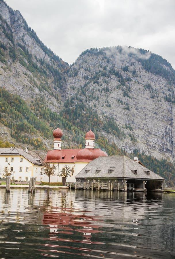 St. Bartholomew kościół, Niemcy zdjęcia royalty free