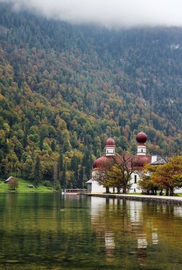St. Bartholomew kościół, Niemcy fotografia stock