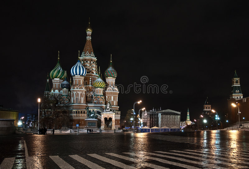 Download St. Basil Catedral In Moscow. Russia Stock Photo - Image: 8220084