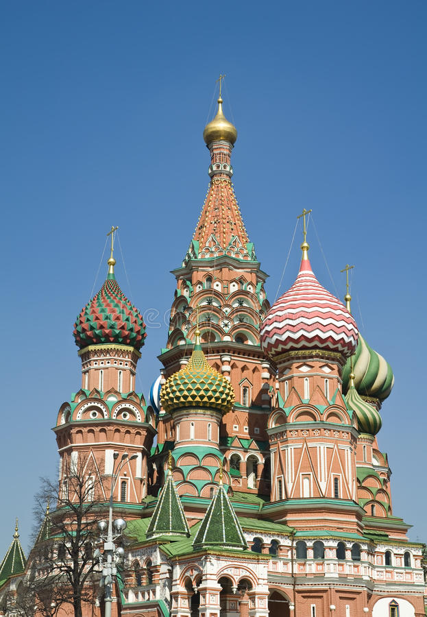 Download St. Basil Cathedral stock image. Image of outdoors, building - 25659455
