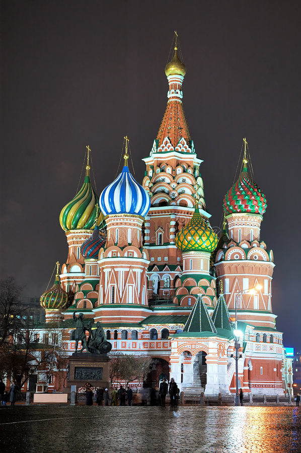 Free St. Basil Cathedral [at Night] 3 Stock Image - 415861