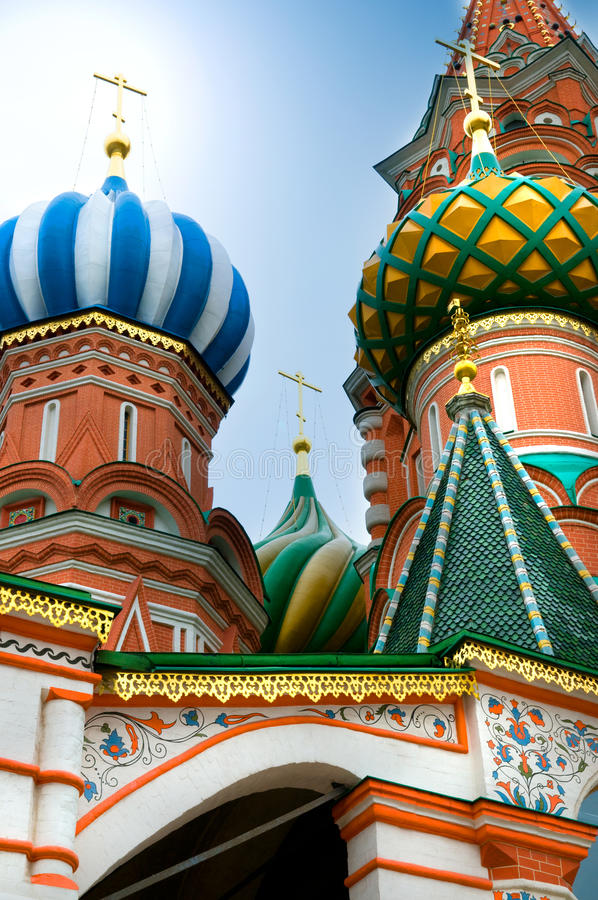 Free St.Basil Cathedral In Moscow Stock Photography - 11067312