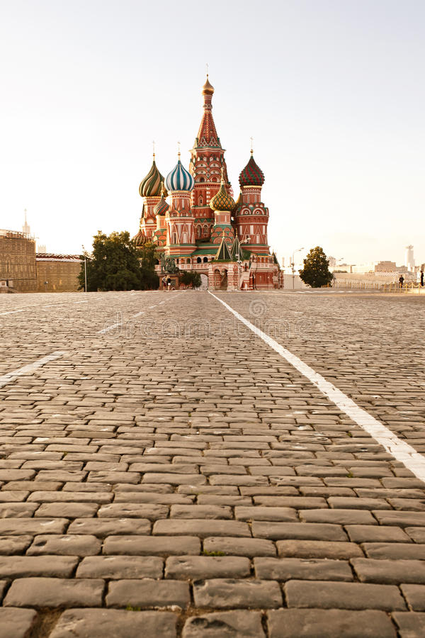 Free St. Basil Cathedral In Moscow Stock Photography - 25722222