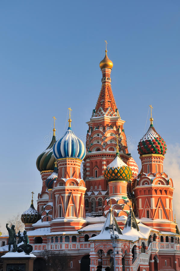 Free St.Basil Cathedral In Moscow Royalty Free Stock Image - 29327226