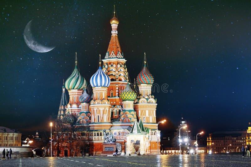 St Basil Cathedral, Kremlin de Moscou foto de stock royalty free
