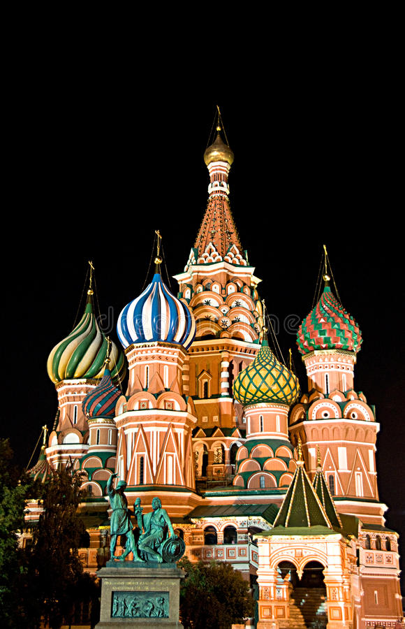 Free St. Basil Cathedral On Red Square, Moscow, Russia Stock Image - 14516101