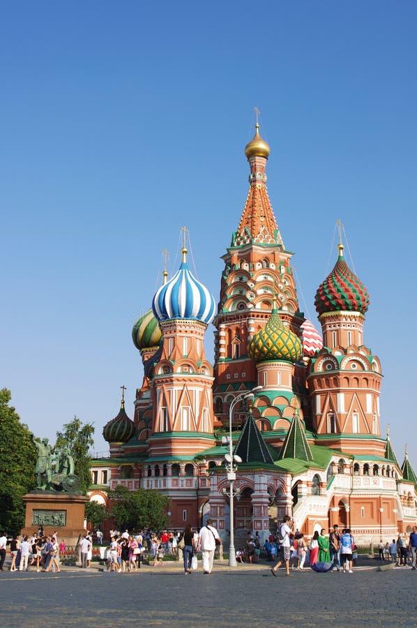 St Basil katedra W Moskwa zdjęcia stock