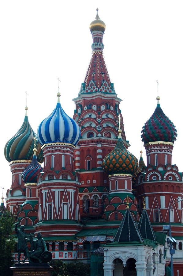st basil katedry. obraz stock