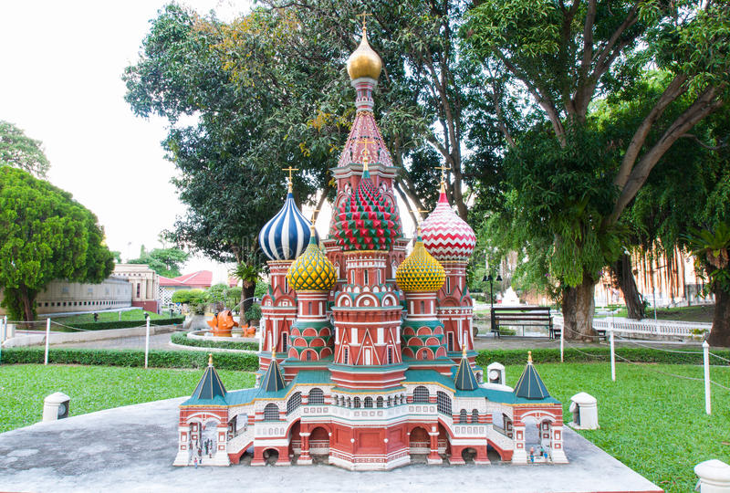 St. basil mini Siam obraz stock