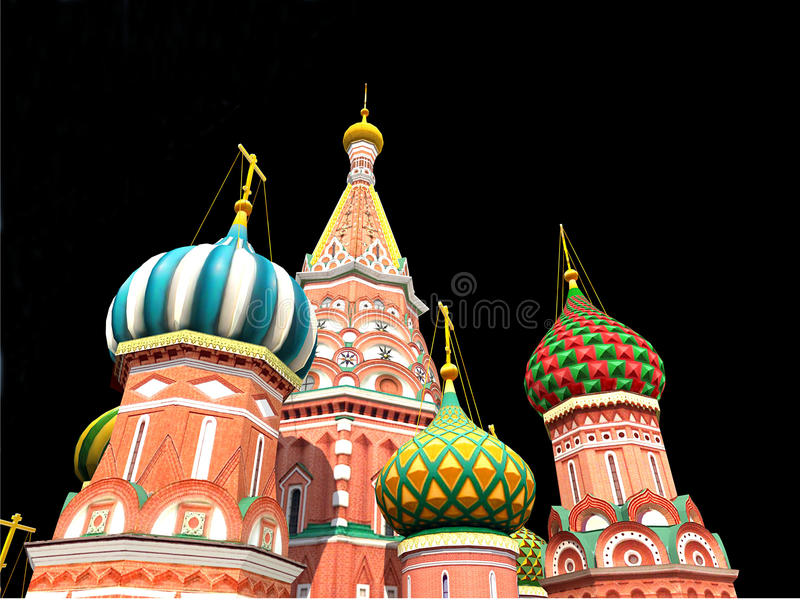 St Basil S Cathedral, Moscow, Royalty Free Stock Photography