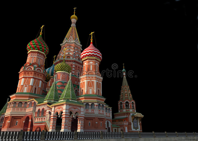 Download St Basil's Cathedral, Moscow, Illustration, Stock Illustration - Image: 27945411