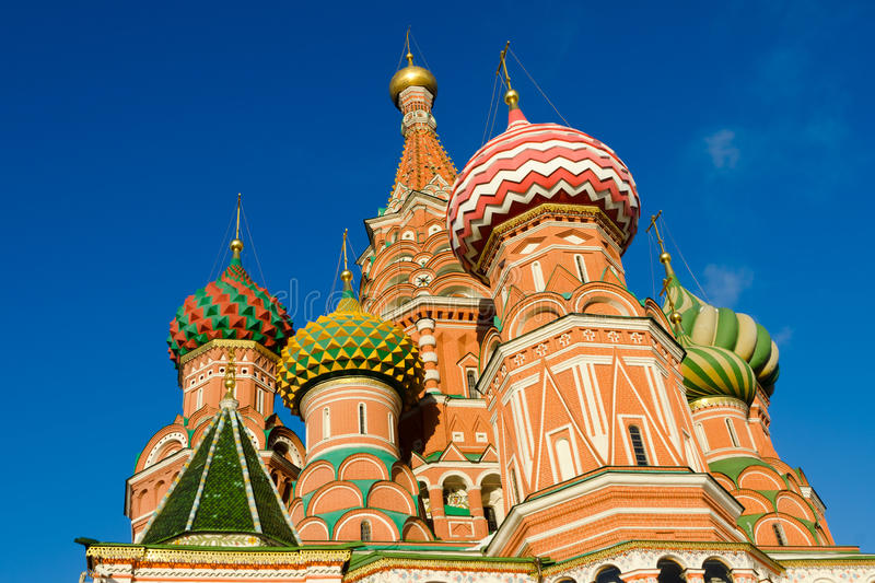 Download St Basil's Cathedral In Moscow Russia Stock Photo - Image of landmark, monument: 28424480