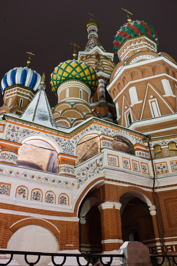 Download St.Basil's Cathedral On Red Square, Moscow Editorial Stock Image - Image of religious, night: 22542584