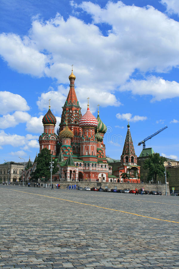 Download St. Basil's Cathedral At The Red Square Of Moscow Stock Photo - Image: 26596036