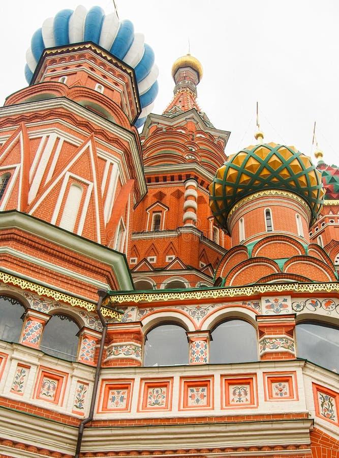 St Basil& x27; s katedra Moskwa obrazy royalty free