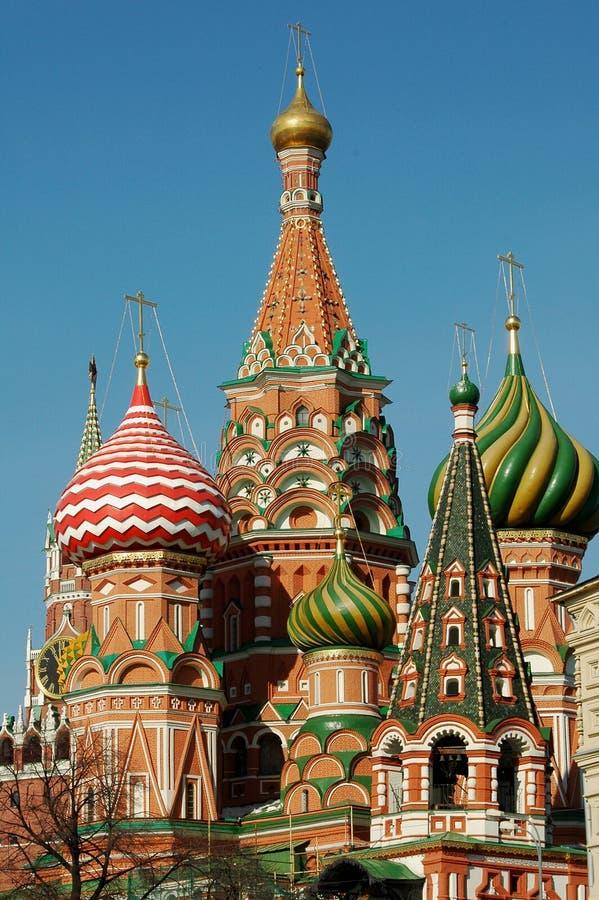 ST Basile katedra, Moskwa, Rosja fotografia stock